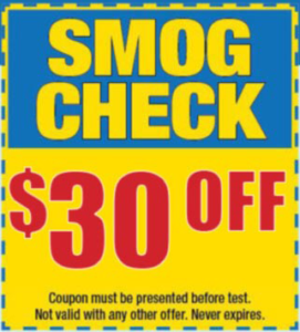 Boutique smog star certified smog check station Vacaville Ca